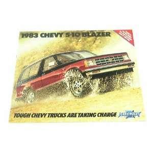 1983 83 Chevrolet Chevy S 10 BLAZER Truck BROCHURE