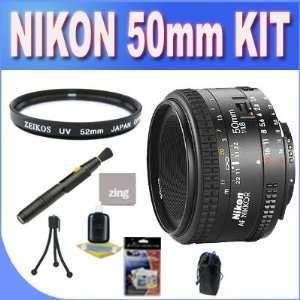 8D AF Nikkor Lens for Nikon Digital SLR Cameras + UV Filter + Lens