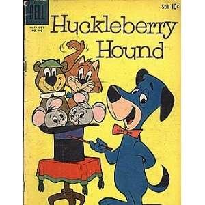 Huckleberry Hound (1959 series) #1 FC #990 Dell
