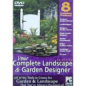 Your Complete 3D Landscape & Garden Designer (DVD ROM