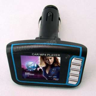 LCD Car  MP4 Player SD MMC FM Transmitter Remote