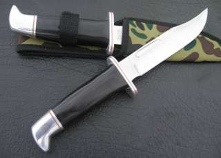 No Brand Fixed Blade Survival Bowie Hunting Knife H01