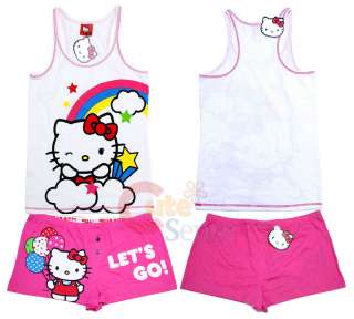 Sanrio Hello kitty Tank Top Pants Sleepwear  Lets Go