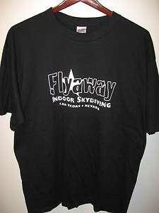 FlyAway Indoor Skydiving Las Vegas Nevada T Shirt XL