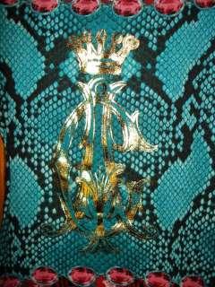 NEW Christian Audigier Rhinestone Women Tee Shirt Ed Hardy