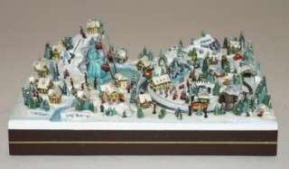 Thomas Kinkade Hawthorne Christmas Village Ski Resort 2008