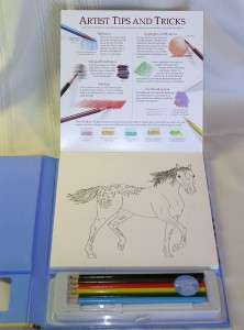 Girl Kayas Art Studio RETIRED Christmas Toy Holiday Gift Indian Horse