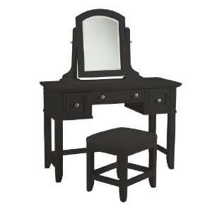 Home Styles Bedford Black Vanity