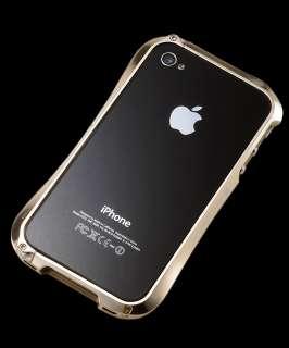 Draco IV (DEFF Cleave) iPhone 4 & 4s Aluminum Bumper Case (Luxury Gold