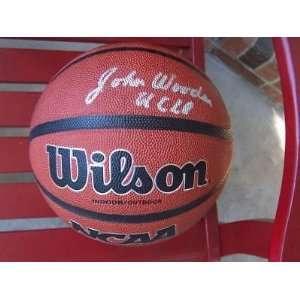 Signed F/s Ncaa Basketball Ucla Bruins Hof   Autographed College