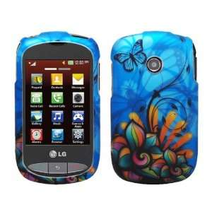 Skin Phone Case for TracFone LG Cookie 800G + LCD Screen Guard Film
