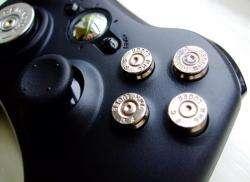 Custom XBOX 360 Controller D Pad 9mm Bullet Buttons NR