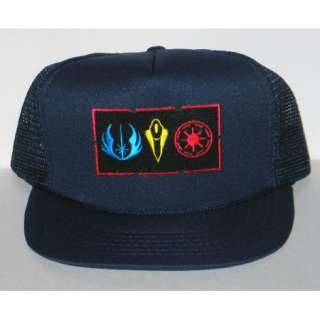 Star Wars Clone Wars Symbols Patch Baseball Hat /Cap