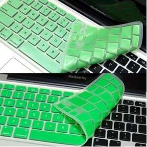 Bluecell 2 Pack Green Color Keyboard Cover for Apple