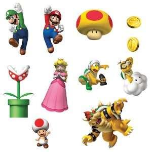 Party Destination 164716 Super Mario Bros. Removable Wall