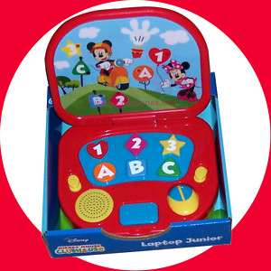 Mickey Mouse Club House Learning Laptop Boys Gift 12+ 049022507913