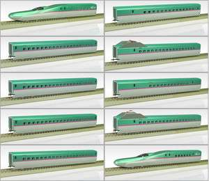 ENDO HO Scale : JR Shinkansen Bullet Train Series E5 Hayabusa 10 Car