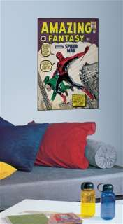 Amazing Fantasy #15 Spider Man Comic Book Cover Giant Peel and Stick