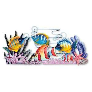 Tropical Fish Wall Art Home & Kitchen
