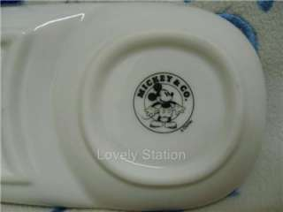 Disney Mickey Mouse & Minnie Mouse Sauce Pottery Dish