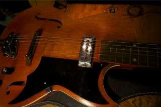Kay K551 Jazz guitar acoustic Electric Concert Hall 1966