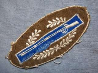 PATCH WW2 US ARMY CIB COMBAT INFANTRY BADGE THEATER MADE COOL ORIGINAL