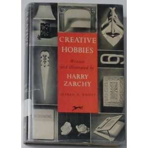 Creative Hobbies Harry Zarchy Books
