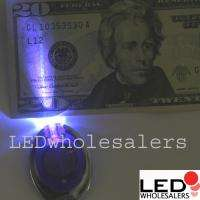 50x 385 nm UV Counterfeit Money Detector Light Keychain