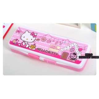Hello Kitty School Supply Pencil Pen Case / Box  Cake