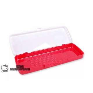 Hello Kitty School Supply Pencil Pen Case / Box  Ribbon