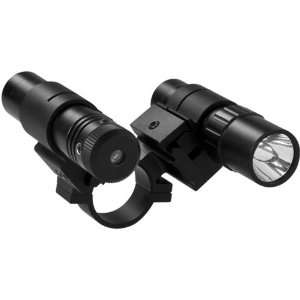 Sports 1 Ring Mount for Scope w/ LED Light & Green Laser Sports