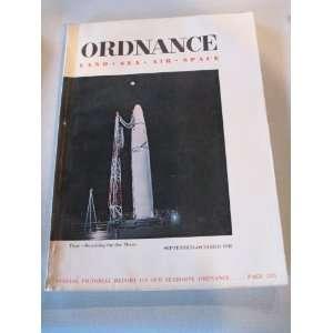 ORDNANCE LAND SEA AIR SPACE MAGAZINE SEPT/OCT 1958 (VOL