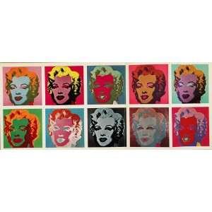 1970 Pop Art Andy Warhol Marilyn Monroe 1967 Print NICE