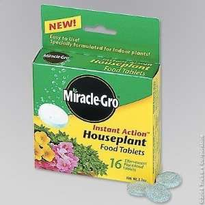 Scotts Miracle Gro 100630 MG Houseplant Tablet Patio