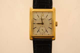 Patek Philippe Mens Rare 18k Yellow Gold  Sub Seconds Dial