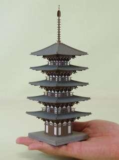 Temple Five story Pagoda 1/150 N scale   Sankei MP03 11