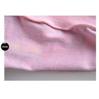New Pink Cute Kids Girls Long Sleeve Kitty Hoodie Pants One Set