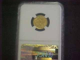 1851 D $2 1/2 LIBERTY HEAD GOLD PIECE NGC XF *RARE*