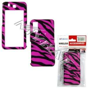 SAMSUNG BEHOLD T919 HOT PINK ZEBRA CASE COVER Everything