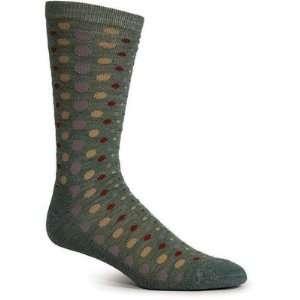 Goodhew LD1W800 Womens Dot Dot Dot Merino Wool / Bamboo Crew Sock