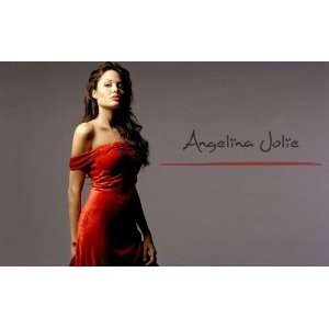 Angelina Jolie 8x11.5 Picture Mini Poster Office Products