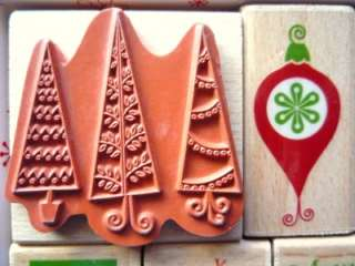 14PC Rubber Stamp Set By Rubber Stampede~ CHRISTMAS ~