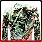 Demon Devil Japanese Graffiti Tattoo Dead Rock LS T shirt Hannya Mask