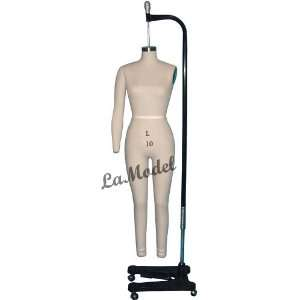Full Body Female Dress Form Size 10 mannequins Office
