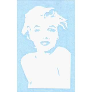 Marilyn Monroe   Shoulders   Rub On Sticker / Decal