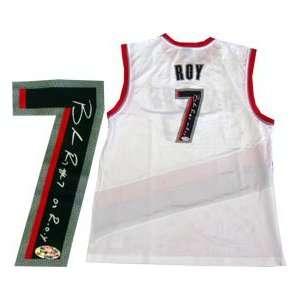 Brandon Roy ROY 07 Autographed Portland Trail Blazers