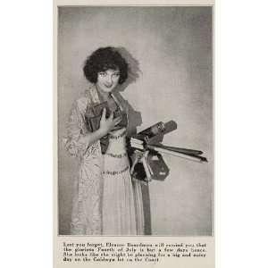 1923 Halftone Print Eleanor Boardman Silent Film Star