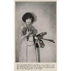 1923 Halftone Print Eleanor Boardman Silent Film Star