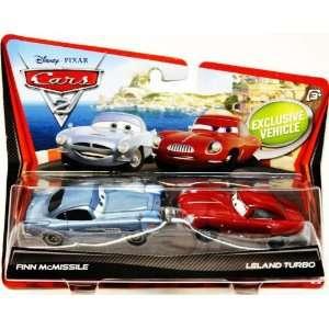 Disney / Pixar CARS 2 Movie 155 Die Cast Car 2Pack Finn