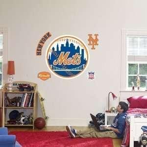New York Mets Logo Fathead Wall Decal